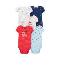 5-Pack Cherries Original Bodysuits