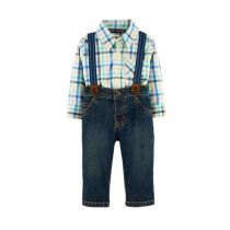 Carter's 3-Piece Plaid Dress Me Up Set - CAT1H312410