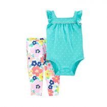 Carter's 2-Piece Polka Dot Bodysuit Pant Set - CAT1H388510