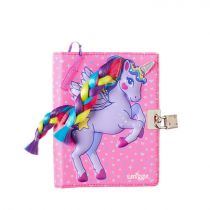 Smiggle Note Book SML Lock Dolly Wishes