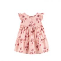 Carter's Floral Tiered Flowy Dress - CAT1H400010