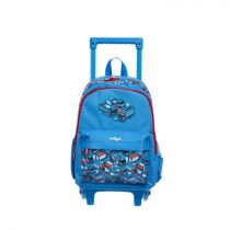 Smiggle Bag Backpack Jnr Trolley Lt Go - IGL443740MBL