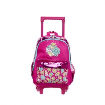 Smiggle Bag Backpack Jnr Trolley Lt Go - IGL443740PNK