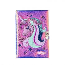 Smiggle Note Book A5 Lock Fave
