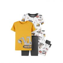 Carter's 4-Piece Construction Snug Fit Cotton PJs