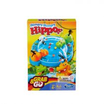 Hasbro Elefun & Friends Hungry Hungry Hippos Grab & Go Game
