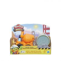 Play-Doh Wheels Mini Cement Truck Toy with 1 Can of Non-Toxic Play-Doh Cement Colored